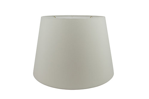 "Tapered Drum Lampshade in Linen, Shantung, or Parchment 8"" - 20"""