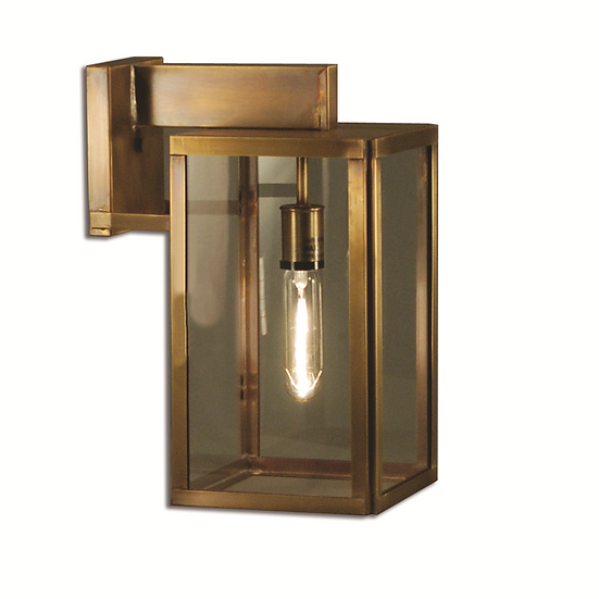 """City Collection 18.25"""" Handcrafted MED 2-Light Wall-Mounted Outdoor Light"""