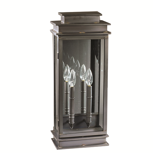 "Imperio 23"" Handcrafted 2-Light Wall-Mounted Outdoor Light Fixture"