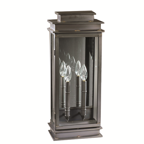 """Imperio 23"""" Handcrafted 2-Light Wall-Mounted Outdoor Light Fixture"""