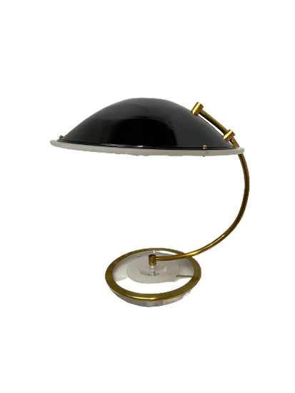 Vintage Bauer Cleat UFO Table Lamp