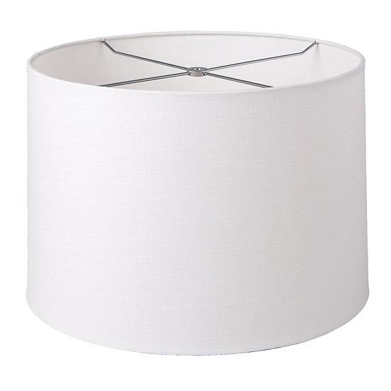 Slubless Rolled Edge Retro Drum Style Lampshade