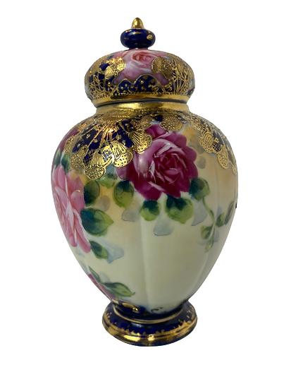 Vintage Ginger Jar Vase