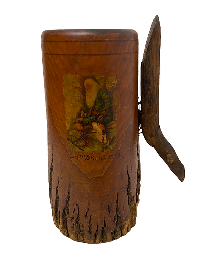 Author Wood Vase