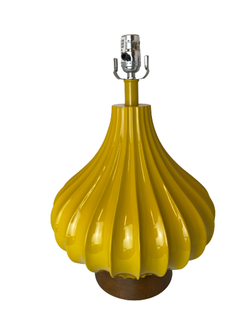 Yellow Meringue Table Lamp
