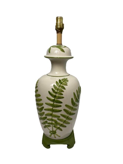 Vintage Ceramic Crackle Lamp