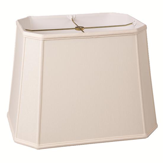Slubless Cut Corner Rectangle Style Lampshades