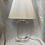Thumbnail: Vintage Lucite Table Lamp With String Shade