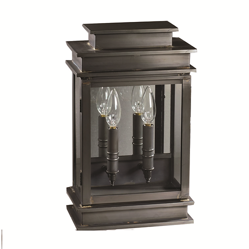"Imperio 15.5"" Handcrafted 2-Light Wall-Mounted Outdoor Light Fixture"