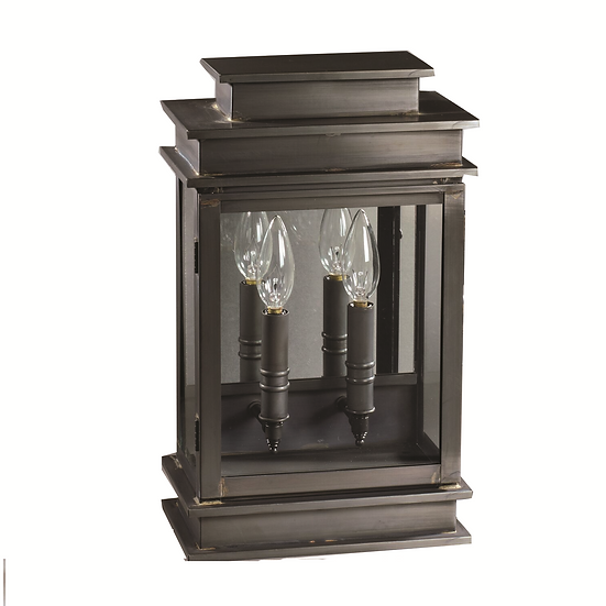 """Imperio 15.5"""" Handcrafted 2-Light Wall-Mounted Outdoor Light Fixture"""