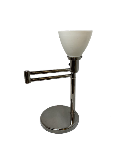 Vintage Swing Arm Table Lamp With Shade