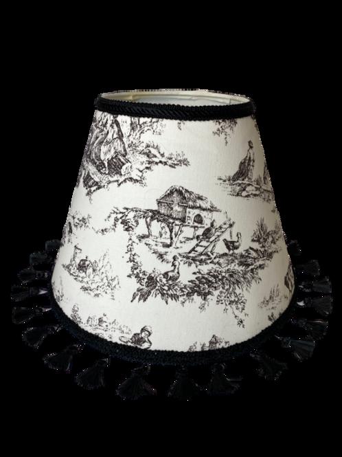 Black Rococo Hardback Lamp Shade