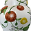 Thumbnail: Vintage Ceramic Fruit Table Lamp