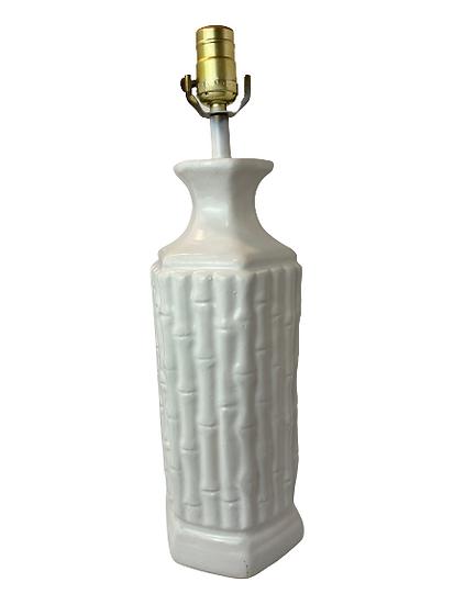 Ceramic Bamboo Boho Table Lamp