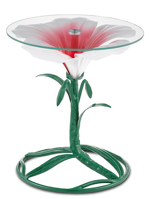 Hibiscus Accent Table