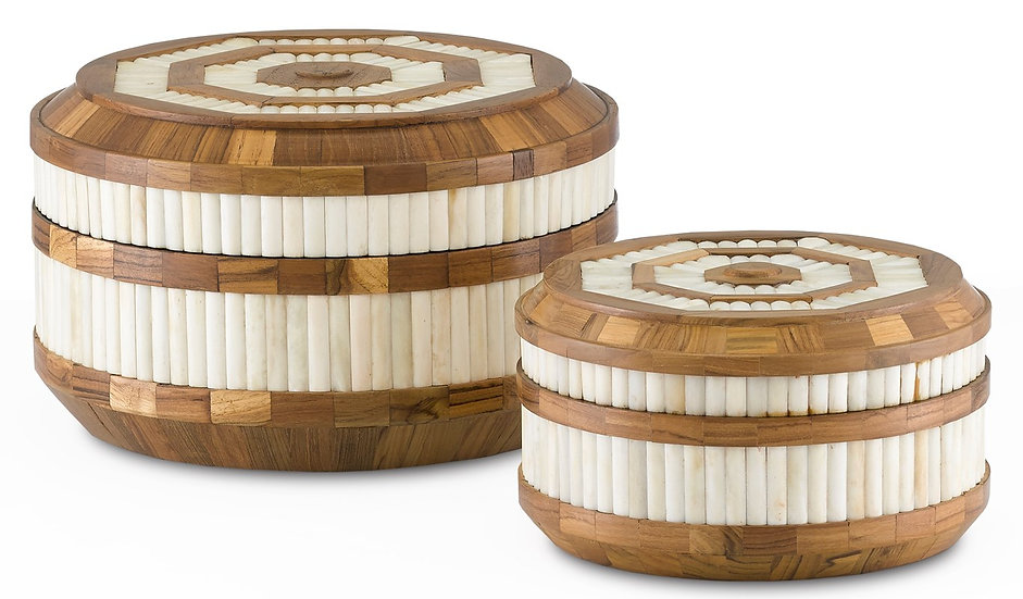 Banjhara Round Box Set of 2