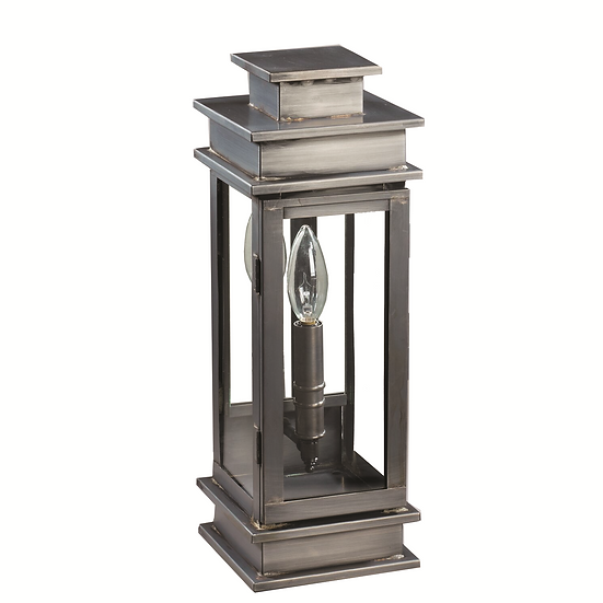 """Imperio 15.5"""" Handcrafted 1-Light Wall-Mounted Outdoor Light Fixture"""