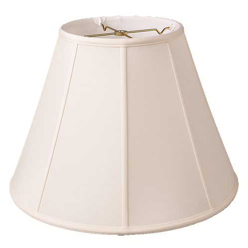 """Slubless Empire Style Lampshades (10-18"""") in Egg and Tan"""