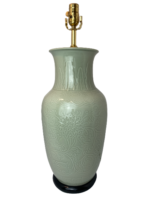 Green Porcelain Table Lamp