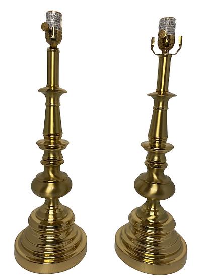 Vintage Stiffel Table Lamp Pair
