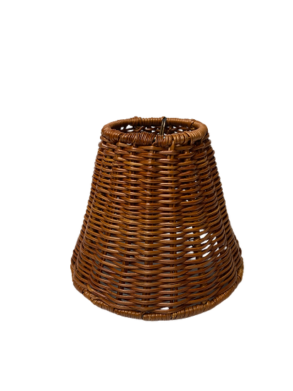 Natural Wicker Chandelier Lamp Shade