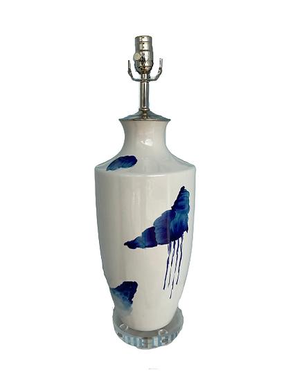 Heath Original Custom Painted Table Lamp