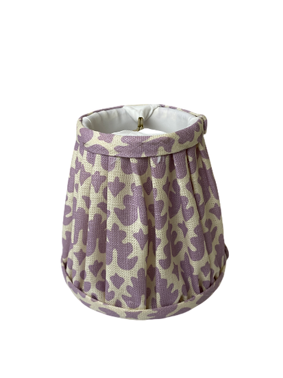 Lavender Chandelier Lamp Shade
