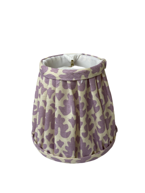 Lavender Chandelier Lamp Shade