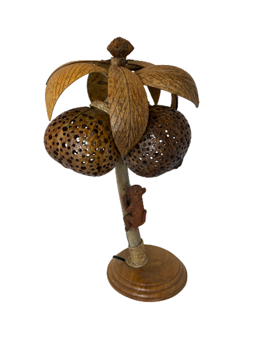Coconut Tree Table Lamp