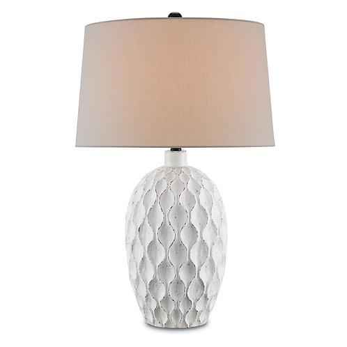 Terracotta Antique White Table Lamp