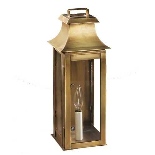 """Concadia 16"""" Handcrafted 1-Light Wall-Mounted Outdoor Light Fixture"""