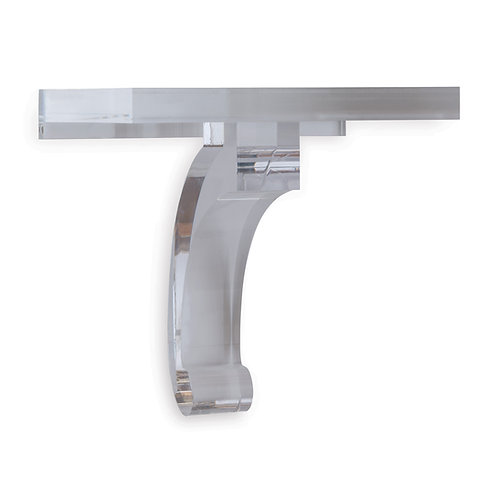 Glencoe Clear Lucite Shelf