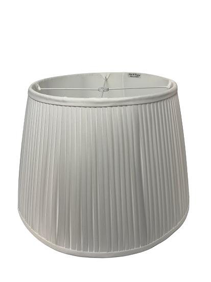 Heath Original White Shirred Lampshade