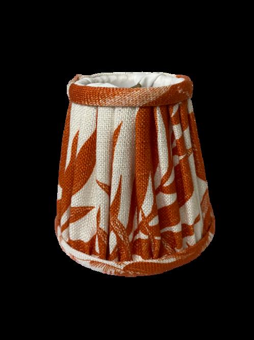 Orange Chandelier Lamp Shade