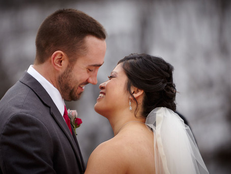 Rain, Sand, Snow...and a Strapless Wedding Dress