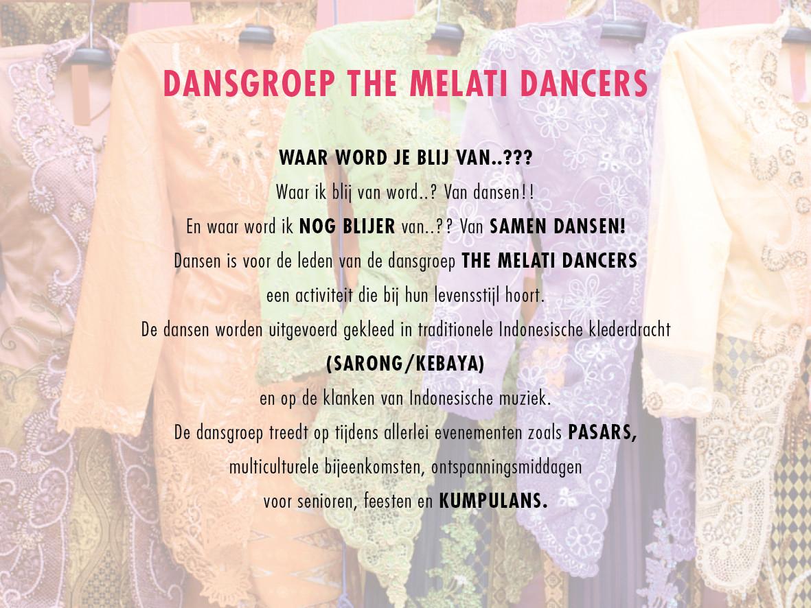 DANSGROEP THE MELATI DANCERS