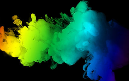 Smoke depicting ink colours