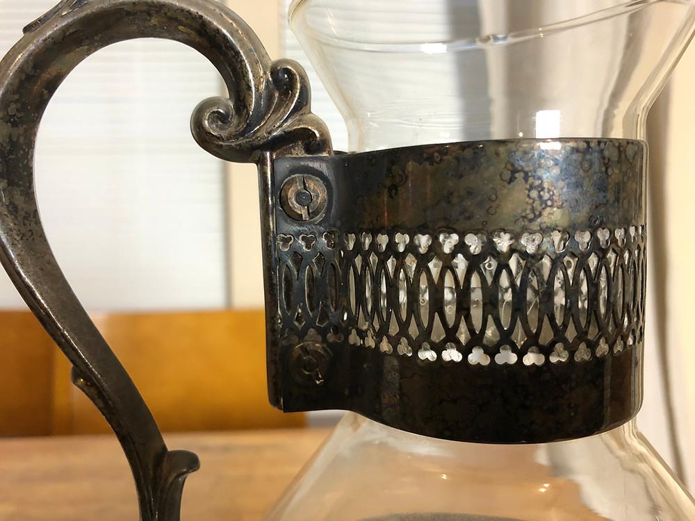 Vintage Carafe Up close