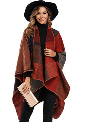 poncho cape gift for her