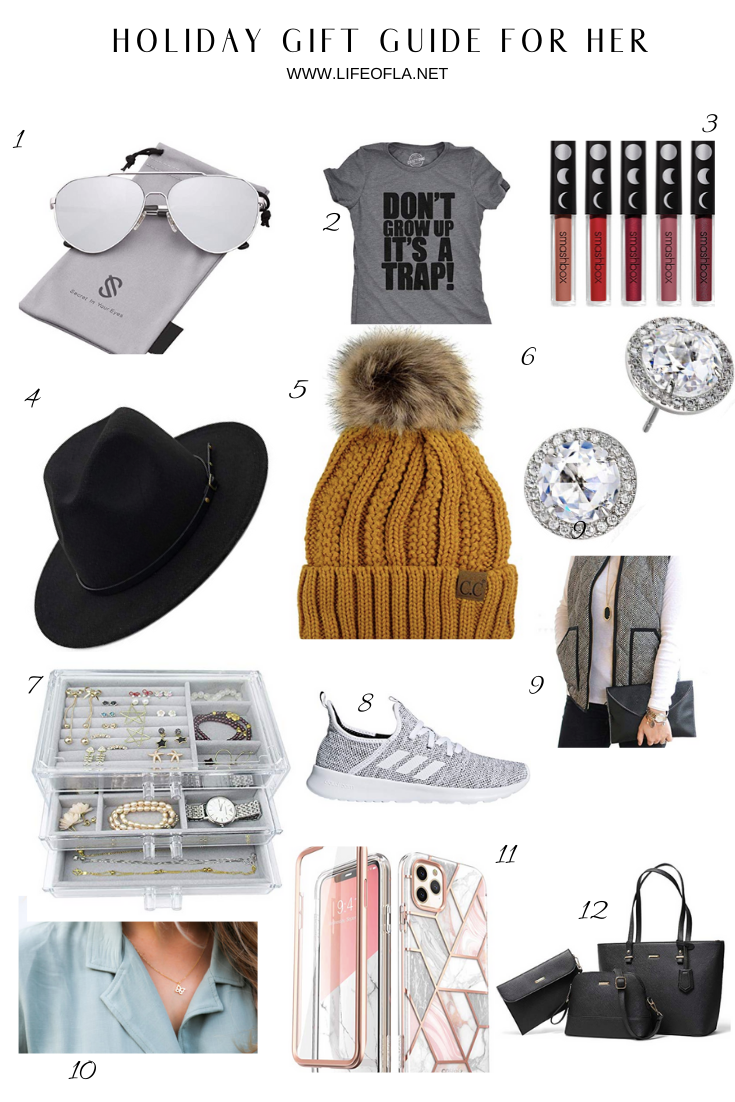 holiday gift guide gifts for her