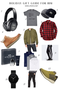 holiday gift guide gifts for him