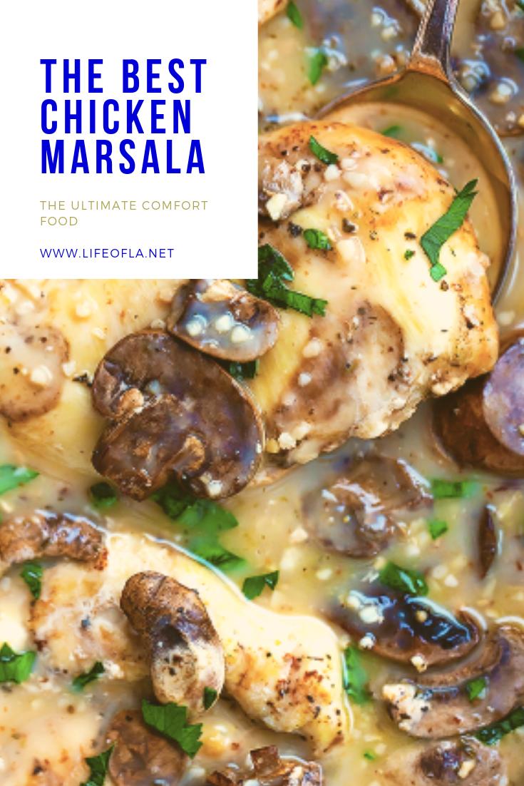 THE BEST CHICKEN MARSALA