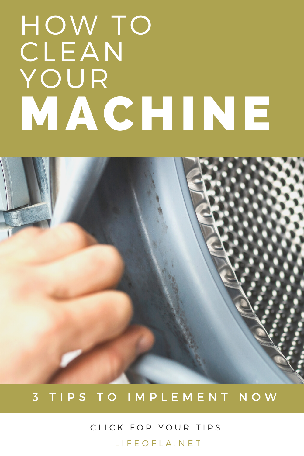 How to clean your washing machine for fresh clothes and linens