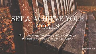 goal setting & achievement