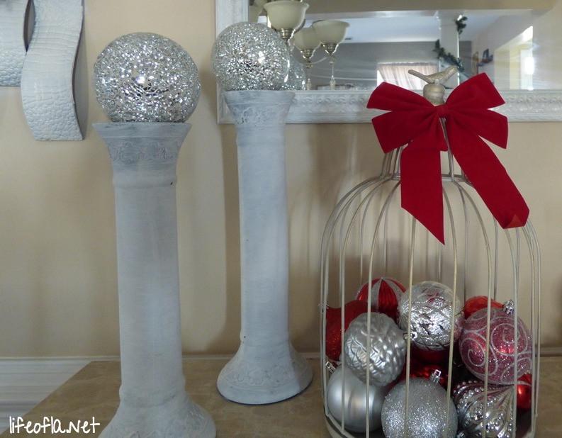 Christmas credenza