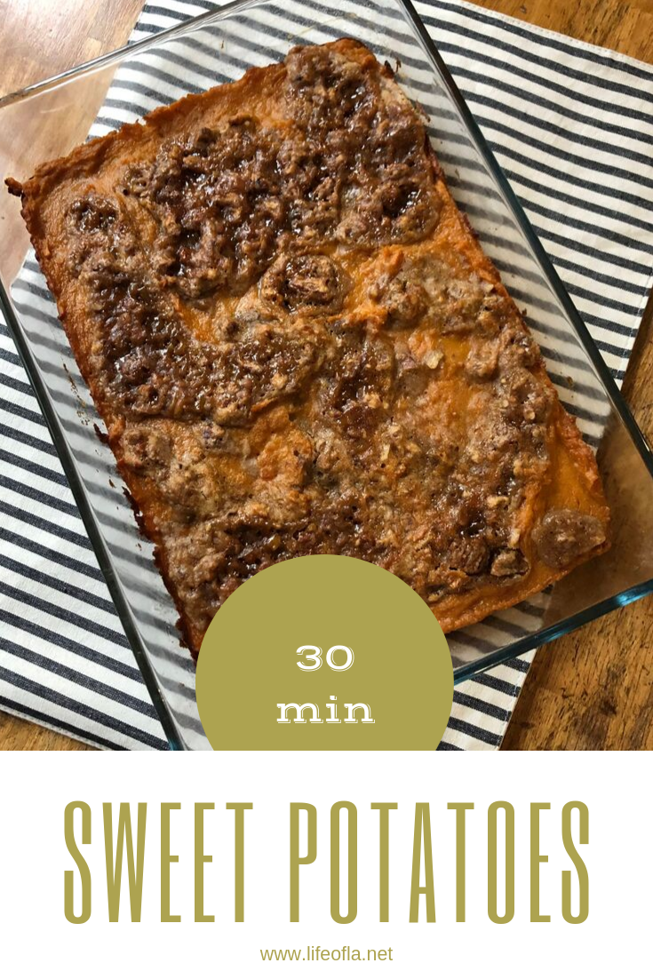 30 minute sweet potatoes