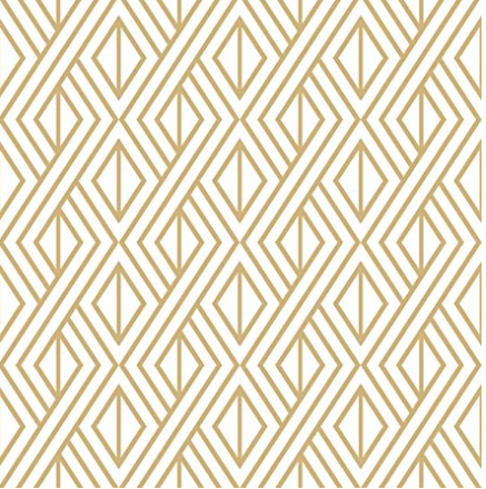 Nextwall diamond geometric peel & stick wallpaper
