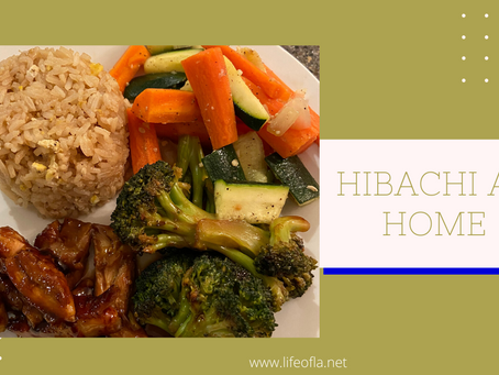 Hibachi at home