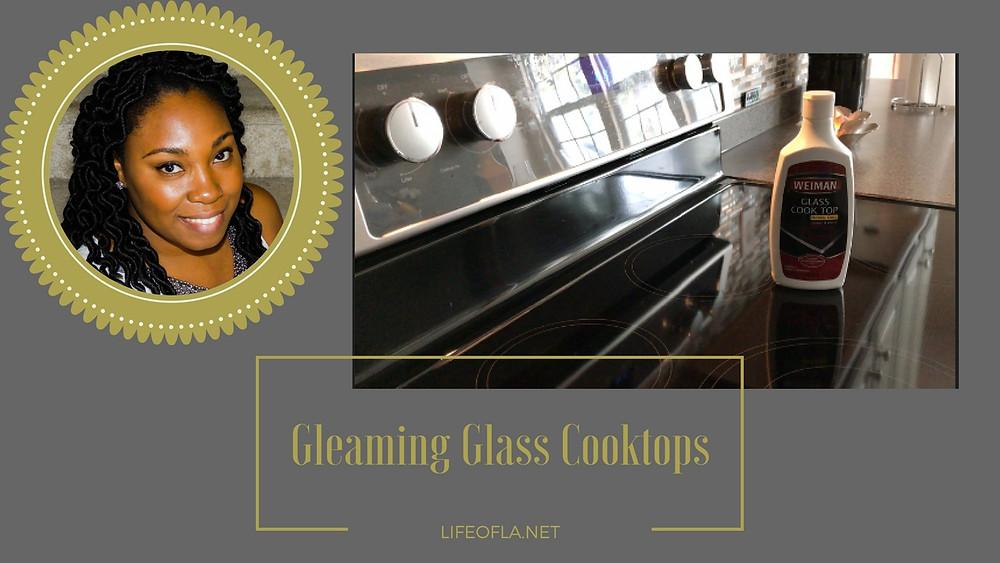 Clean GE Cooktop