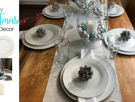 Easy Christmas Table Decor